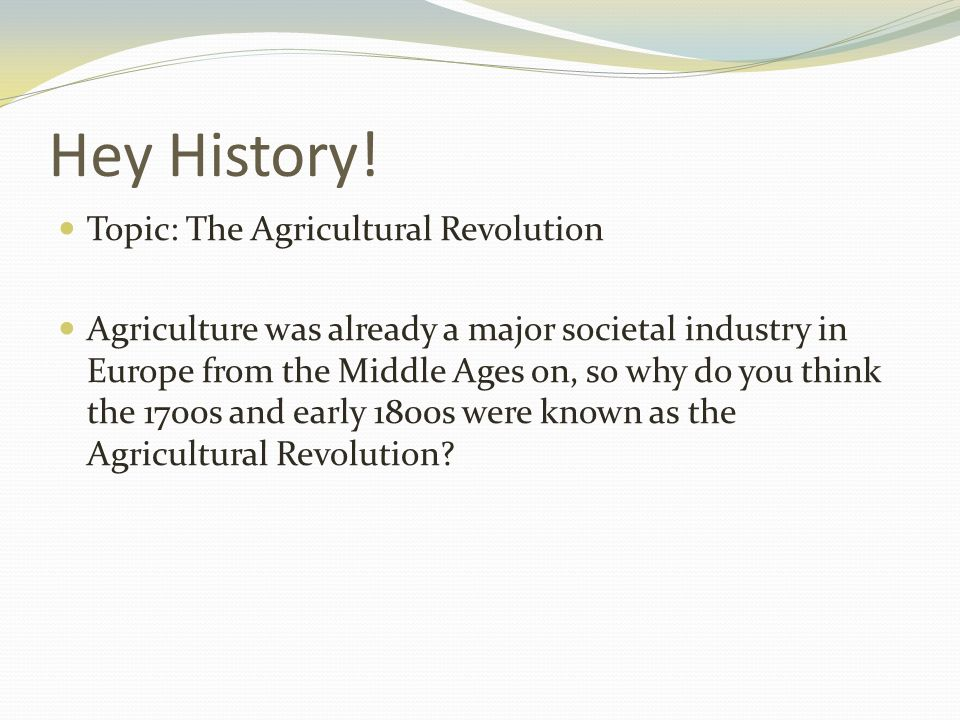 What was one long-term and one short-term effect of the agricultural revolution in medieval Europe?