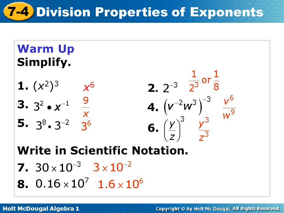 Scientific Notation Division Worksheet multiply divide – Property Division Worksheet