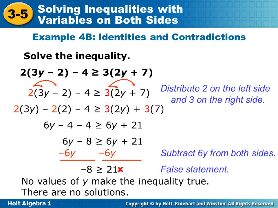 Solving Inequalities With Variables On Both Sides Worksheet 3 5 ...