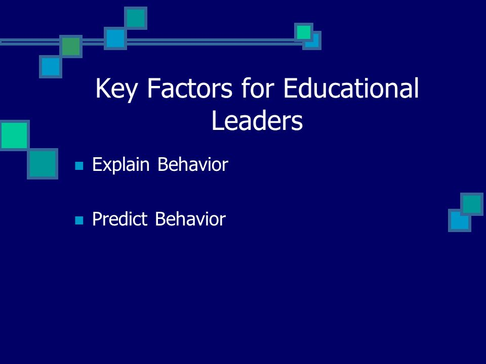The Importance of Leadership Behavior Leadership behavior is guided by: Standards of Practice.