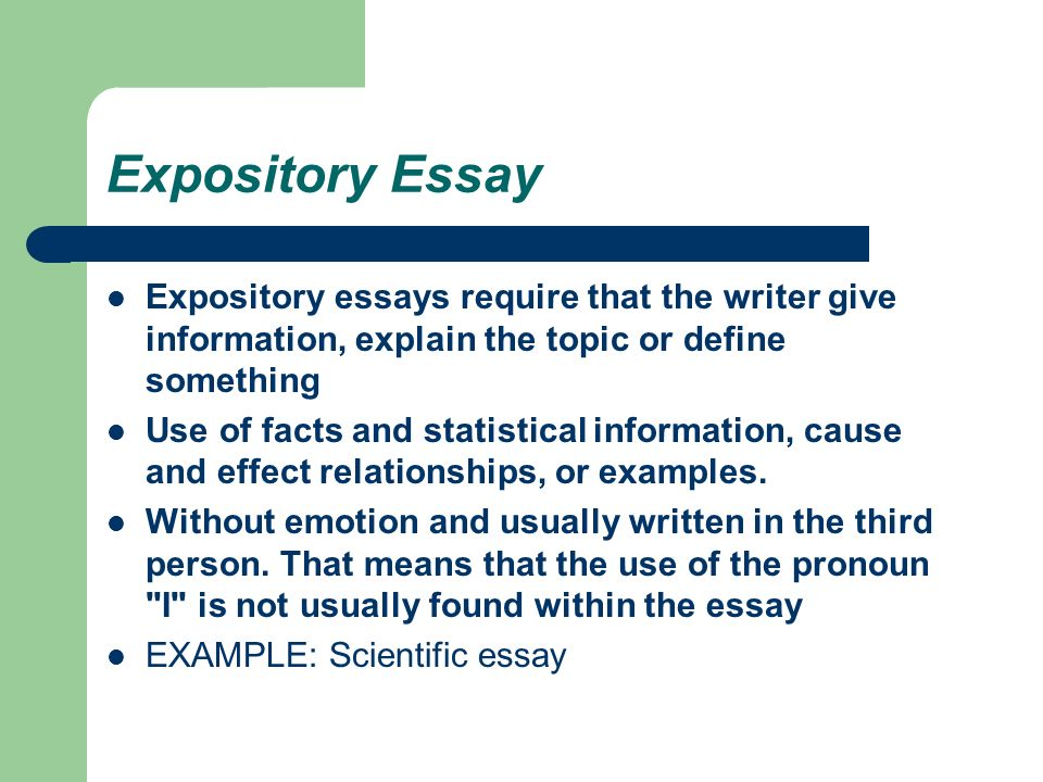 essay types english expository essay expository essays  expository essay expository essays require that the writer give information explain the topic or define