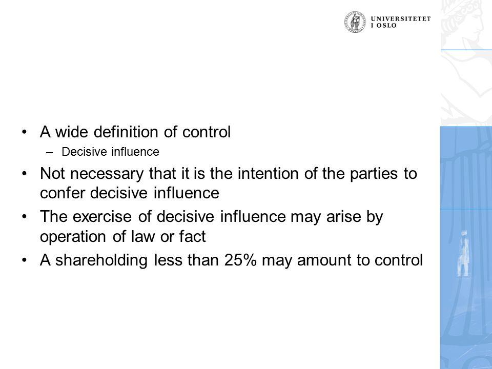 11 A Wide Definition Of Control U2013Decisive ...