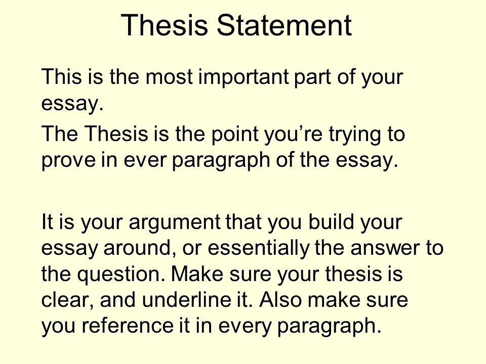 Thesis Essay Importance Of Research Paper Essay With Thesis Statement also Science Essay Topics List Your Assignments  Webassign The War Of  Essay Personal  English Essay Sample