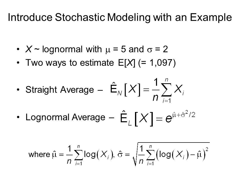 stochastic model