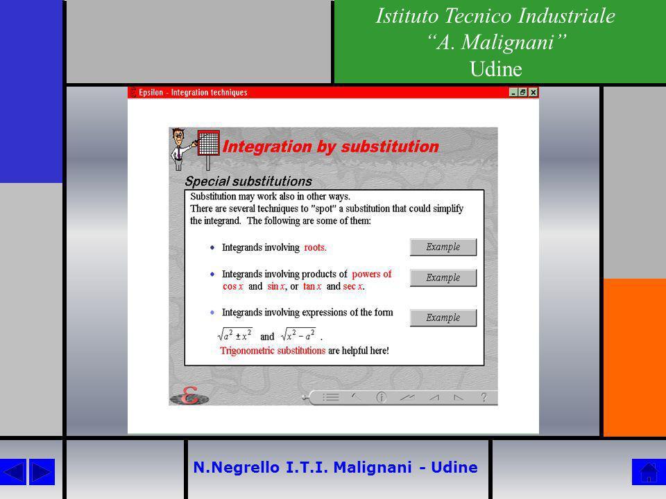 N.Negrello I.T.I. Malignani - Udine Istituto Tecnico Industriale A. Malignani Udine