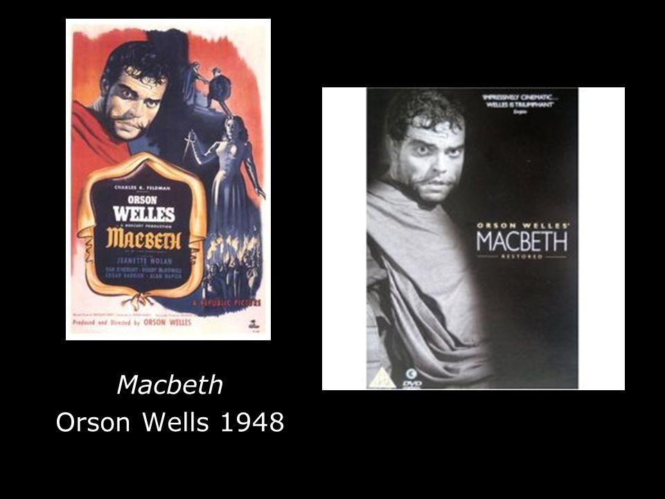 Macbeth Orson Wells 1948