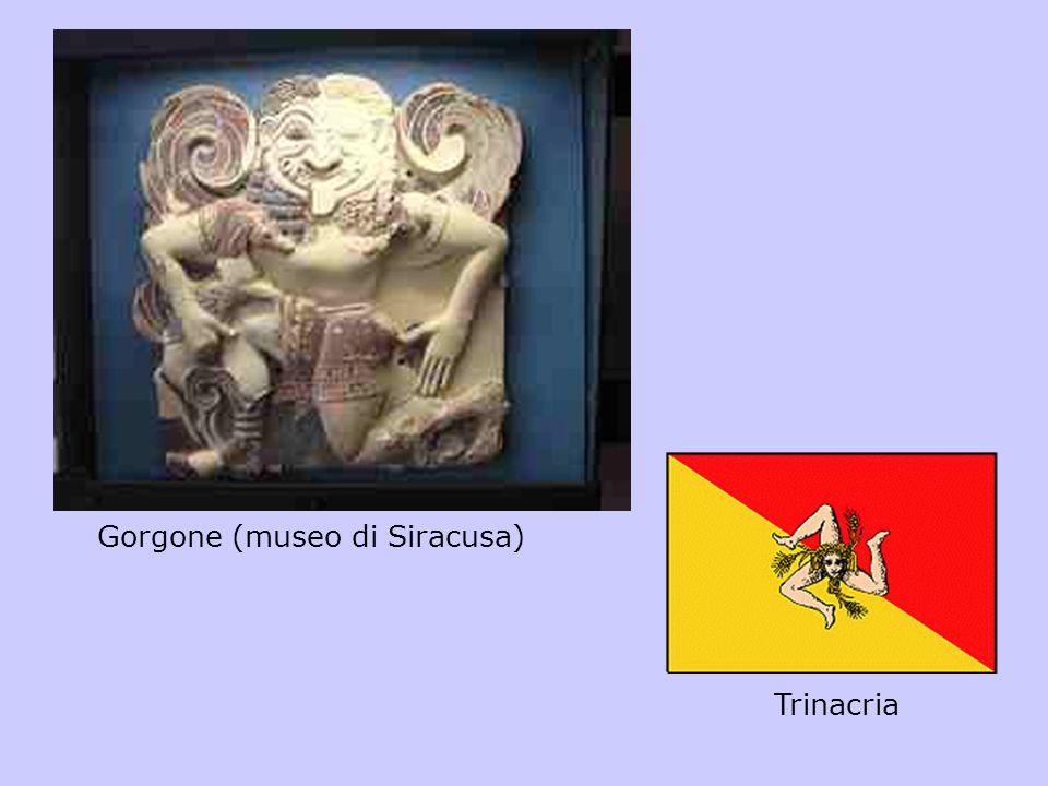 Gorgone (museo di Siracusa) Trinacria