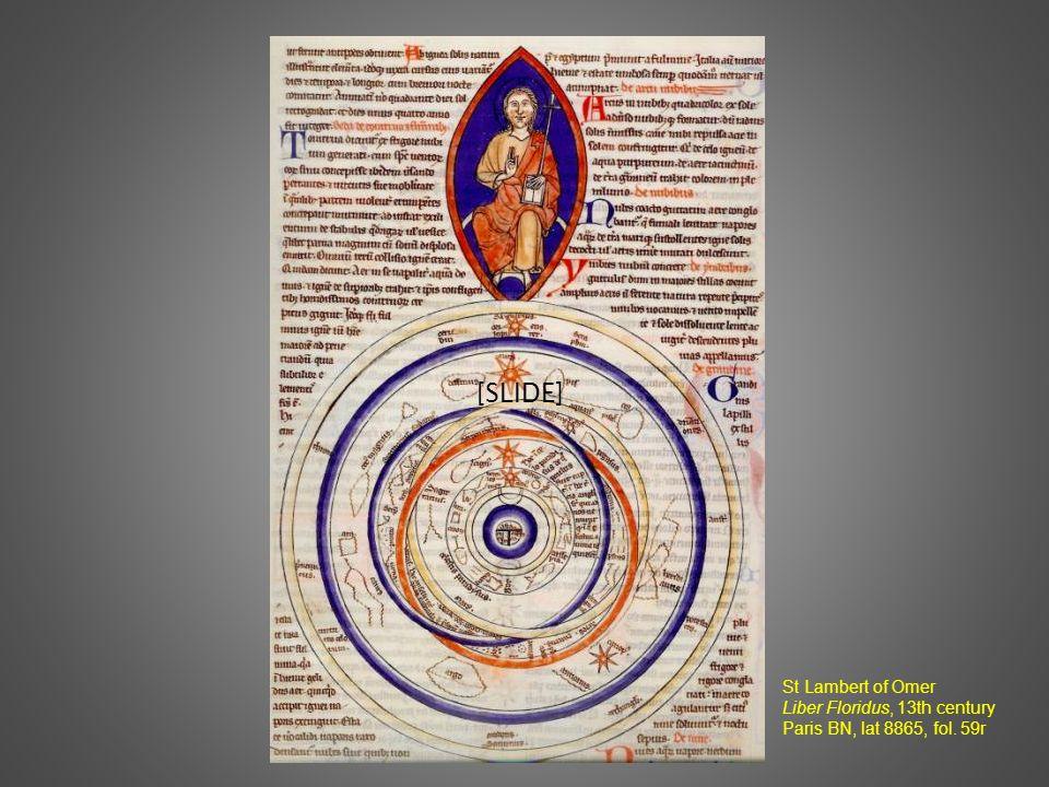 [SLIDE] St Lambert of Omer Liber Floridus, 13th century Paris BN, lat 8865, fol. 59r
