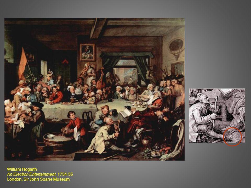 William Hogarth An Election Entertainment, 1754-55 London, Sir John Soane Museum