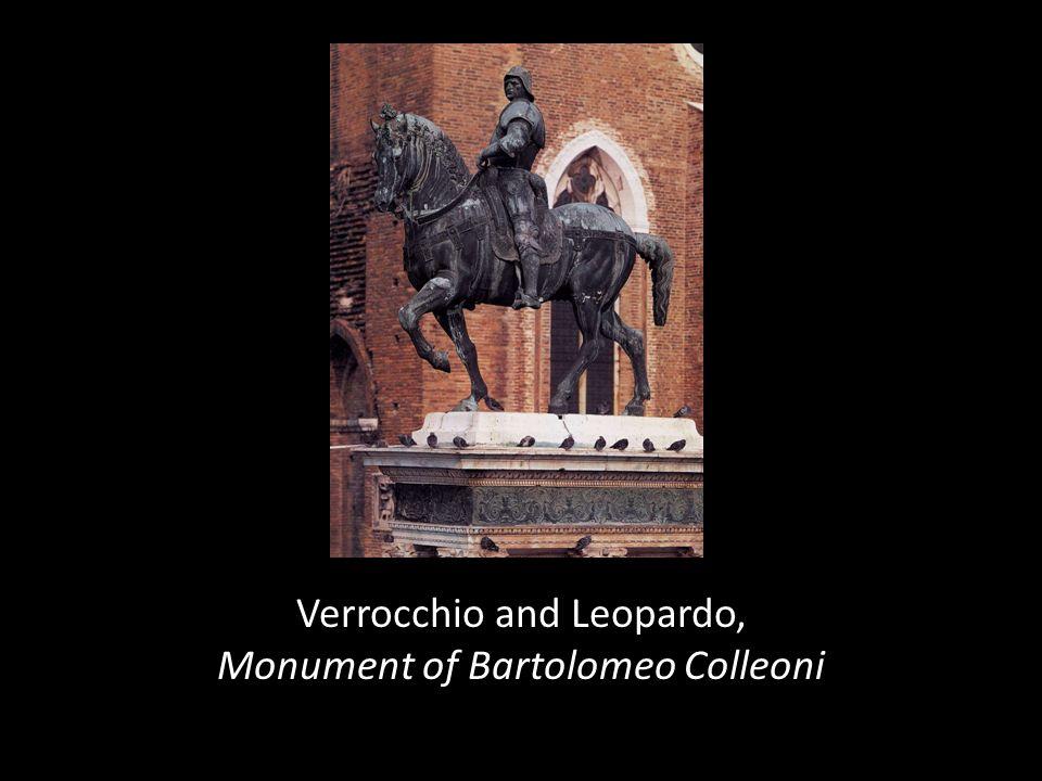 Verrocchio and Leopardo, Monument of Bartolomeo Colleoni