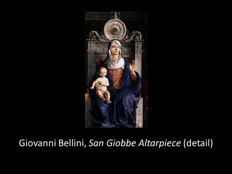 Giovanni Bellini, San Giobbe Altarpiece (detail)