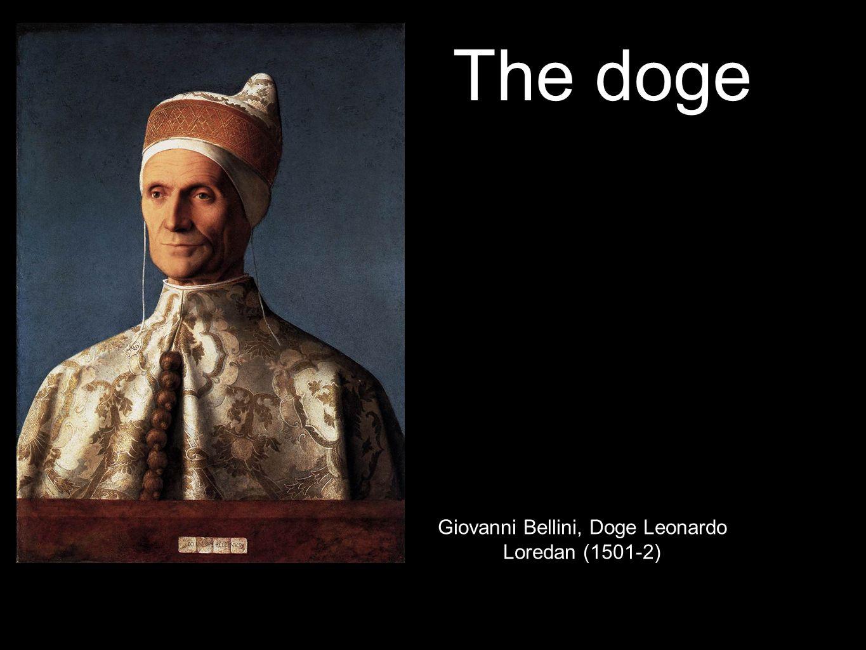 The doge Giovanni Bellini, Doge Leonardo Loredan (1501-2)