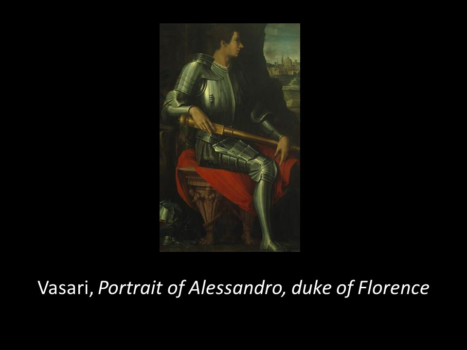 Vasari, Portrait of Alessandro, duke of Florence