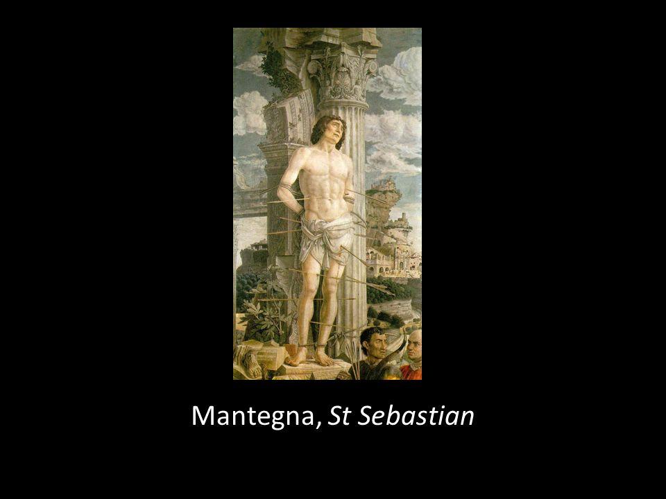 Mantegna, St Sebastian