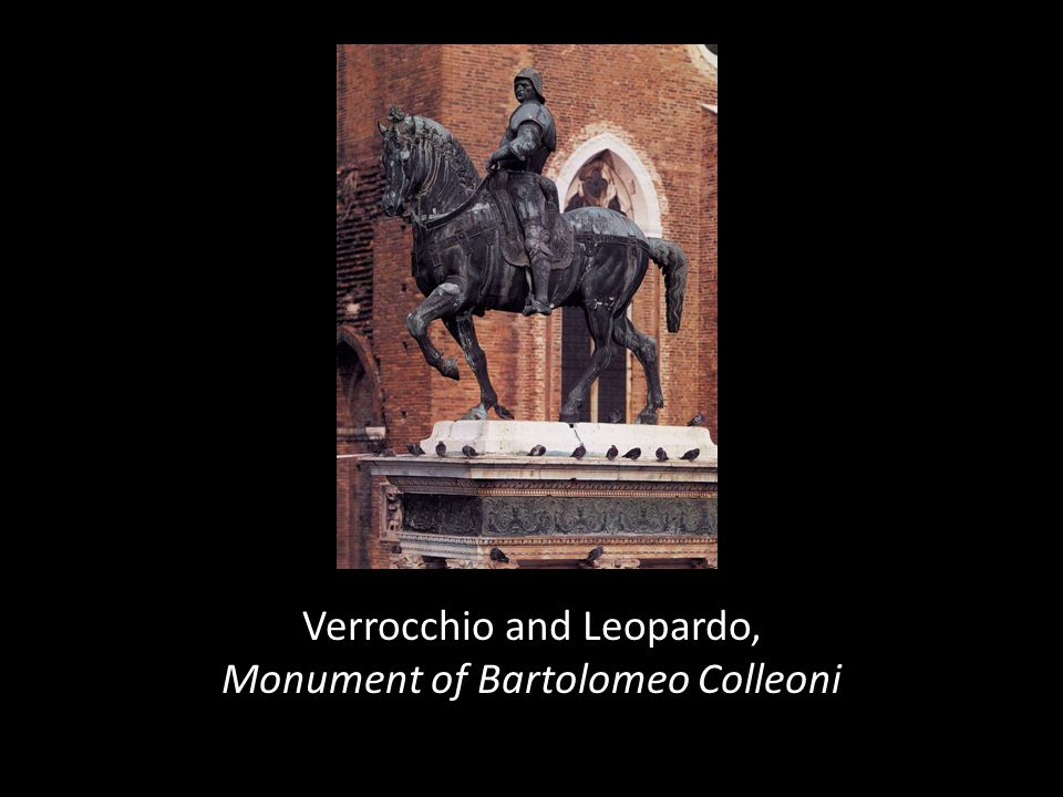 Verrocchio and Leopardo, Monument of Bartolomeo Colleoni