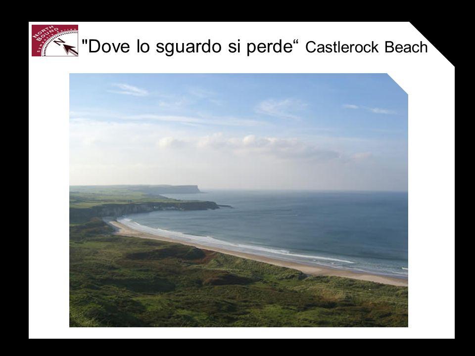 Dove lo sguardo si perde Castlerock Beach