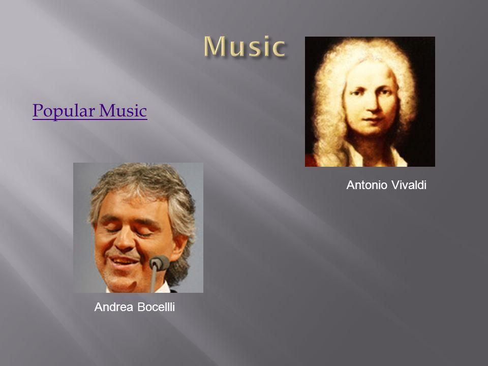 Popular Music Antonio Vivaldi Andrea Bocellli