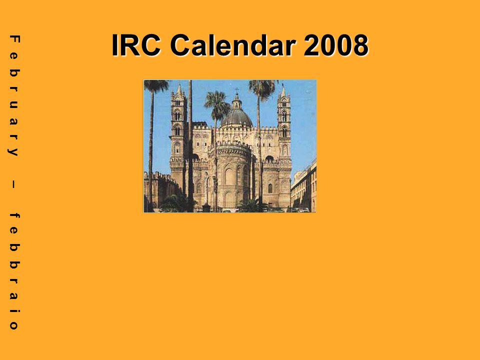 IRC Calendar 2008 February – febbraio