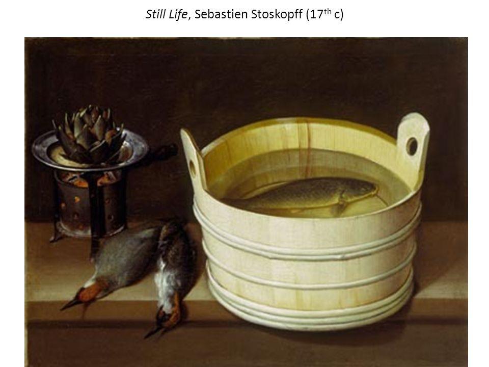 Still Life, Sebastien Stoskopff (17 th c)