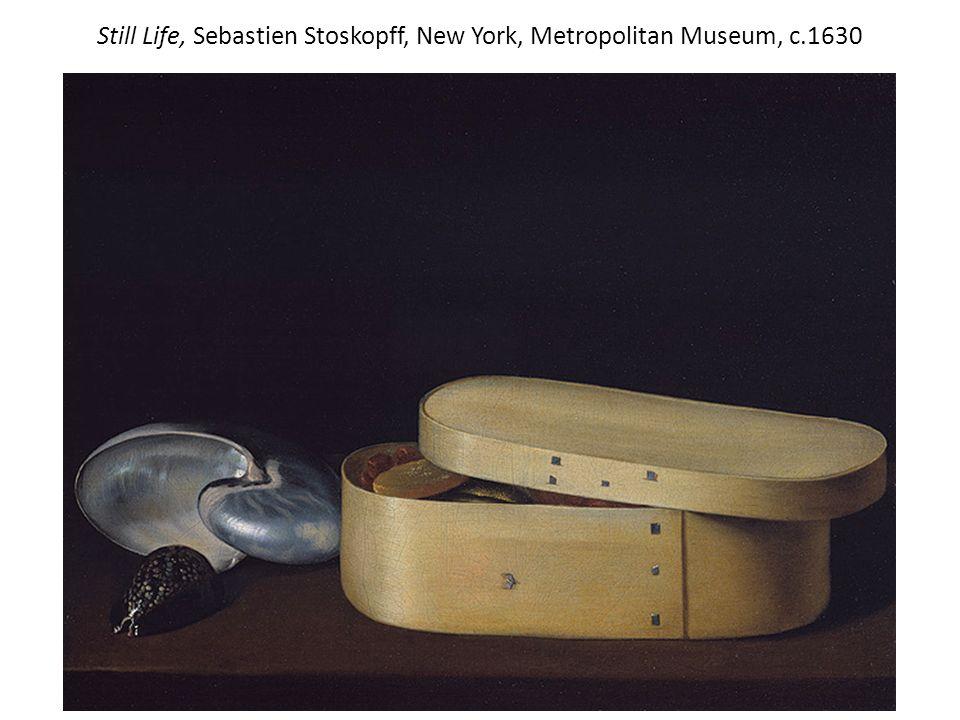 Still Life, Sebastien Stoskopff, New York, Metropolitan Museum, c.1630