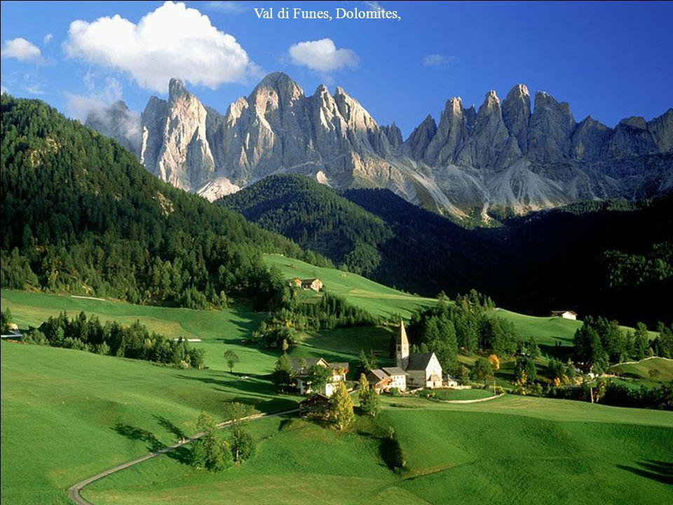 Val di Funes, Dolomites,