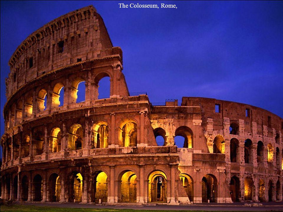 The Colosseum, Rome,