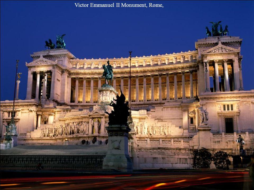 Victor Emmanuel II Monument, Rome,