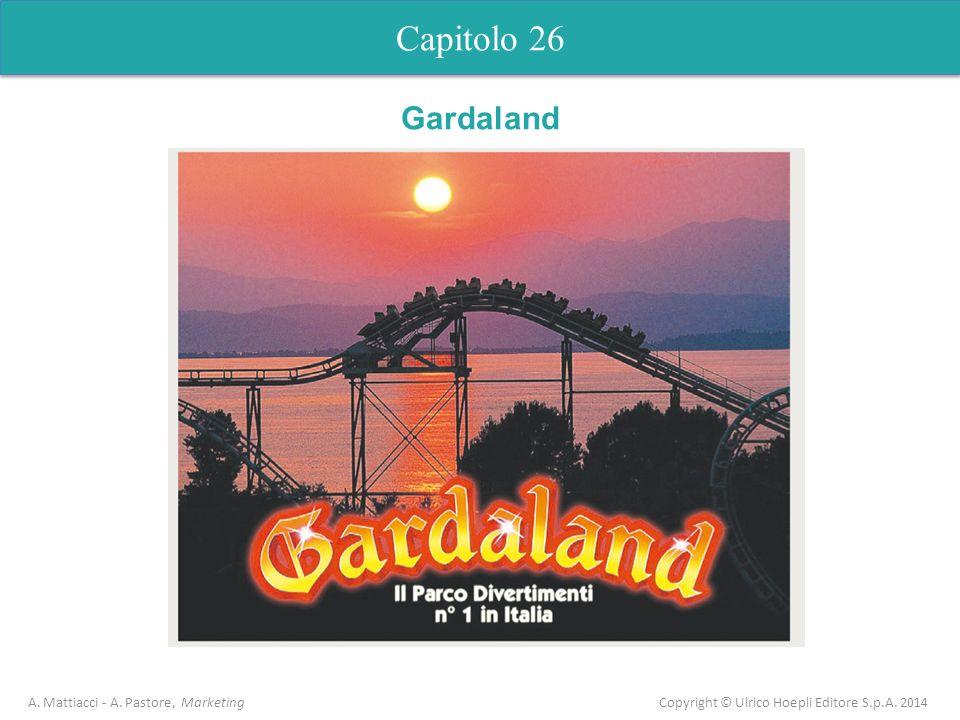 Capitolo 26 A. Mattiacci - A. Pastore, Marketing Copyright © Ulrico Hoepli Editore S.p.A. 2014 Gardaland