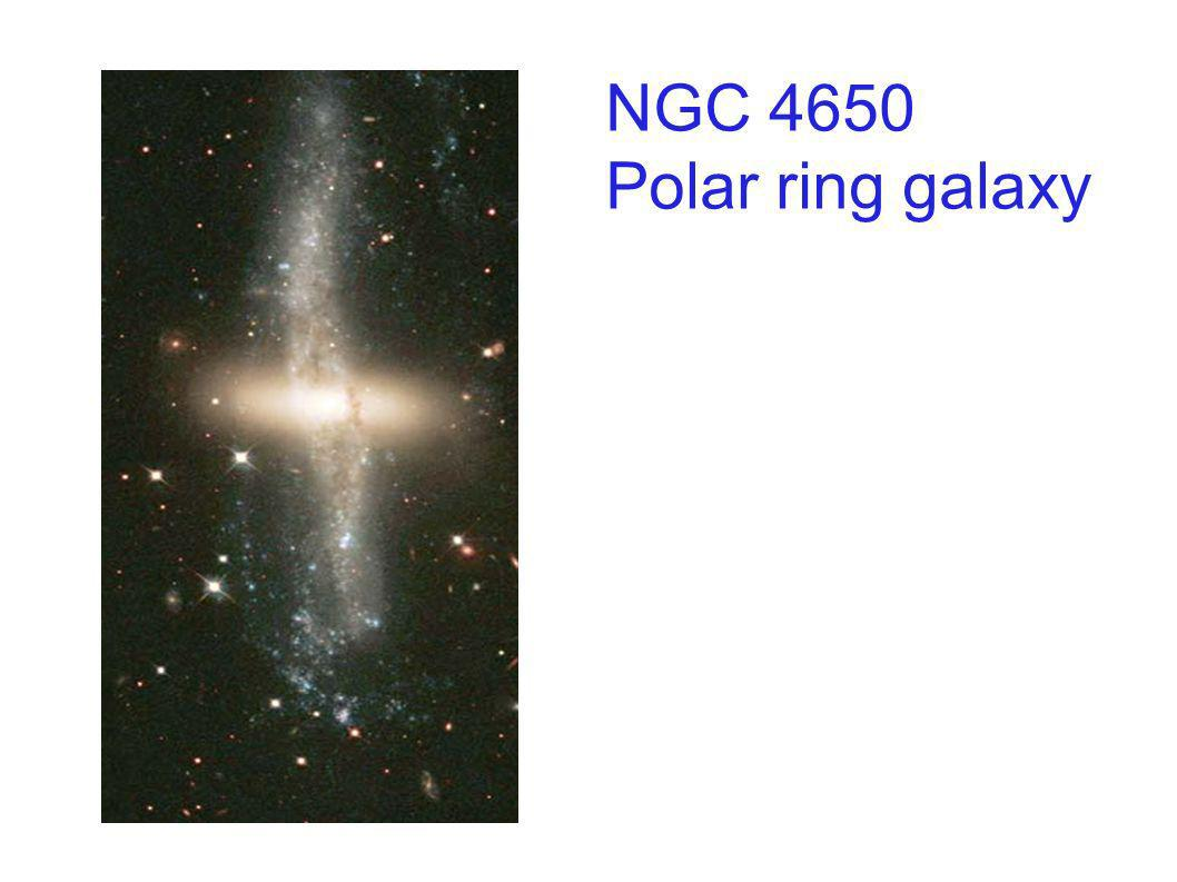 Polar Ring in Ngc 660