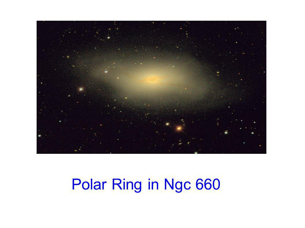 Polar Ring in Ngc 660