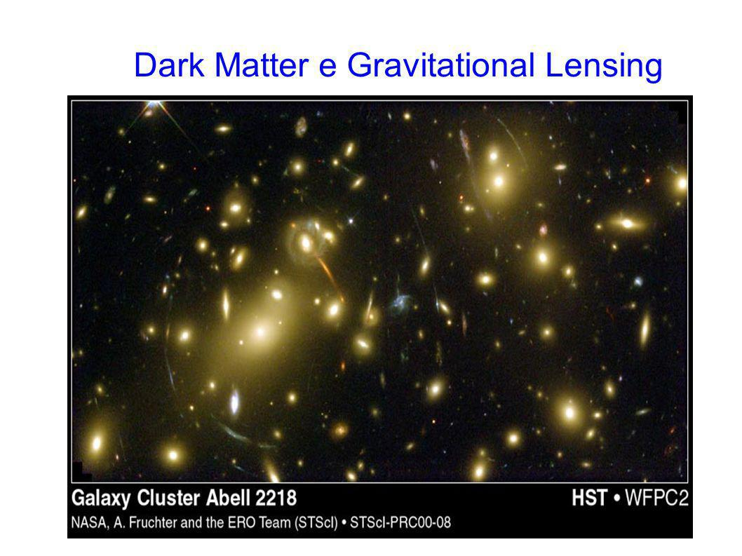 Dark Matter e Gravitational Lensing