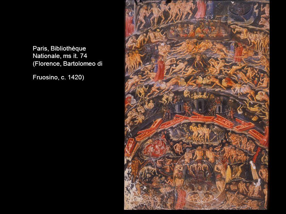 Paris, Bibliothèque Nationale, ms it. 74 (Florence, Bartolomeo di Fruosino, c. 1420)