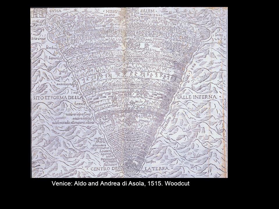 Venice: Aldo and Andrea di Asola, 1515. Woodcut