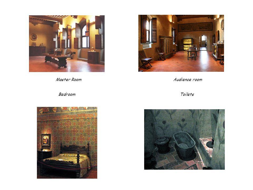 Master Room Audience room Bedroom Toilets