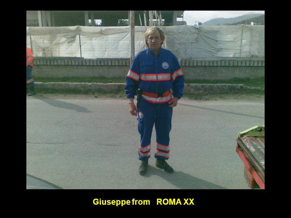 Giuseppe from ROMA XX