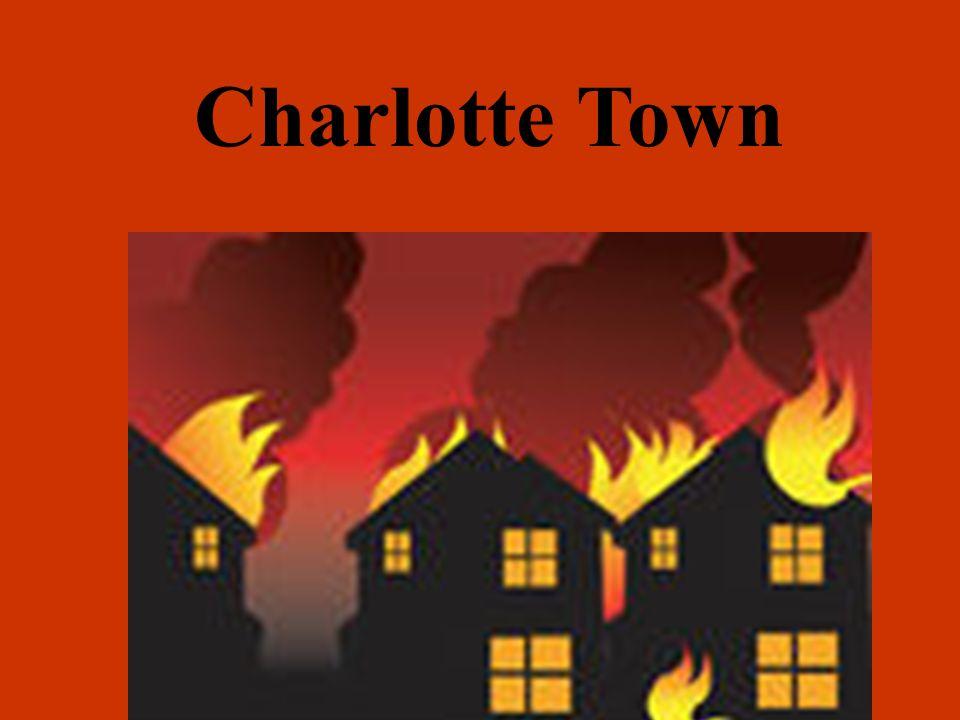 CHARLOTTETOWN- PRINCE EDWARD ISLAND; CANADA- 1857 Fire info: 102-104 Water St.