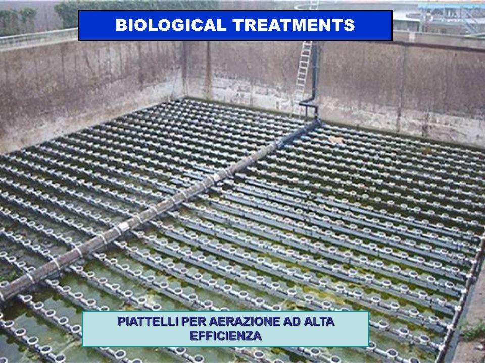 PIATTELLI PER AERAZIONE AD ALTA EFFICIENZA BIOLOGICAL TREATMENTS