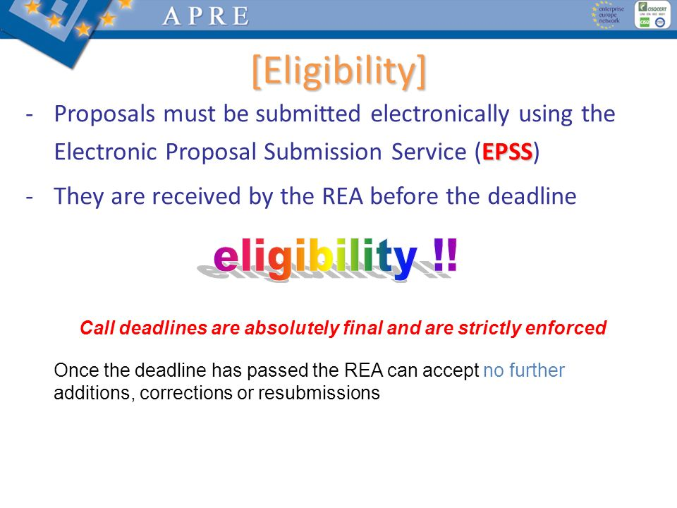 [Suggestions] Experts will assess and mark the proposal exactly as it is described and presented.