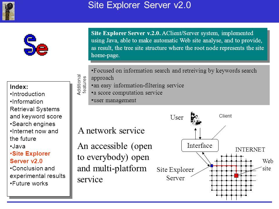 Site Explorer Server v.2.0.