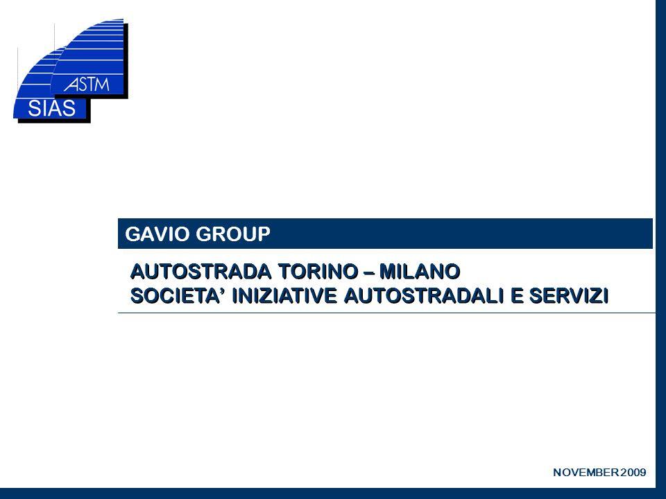 GAVIO GROUP NOVEMBER 2009
