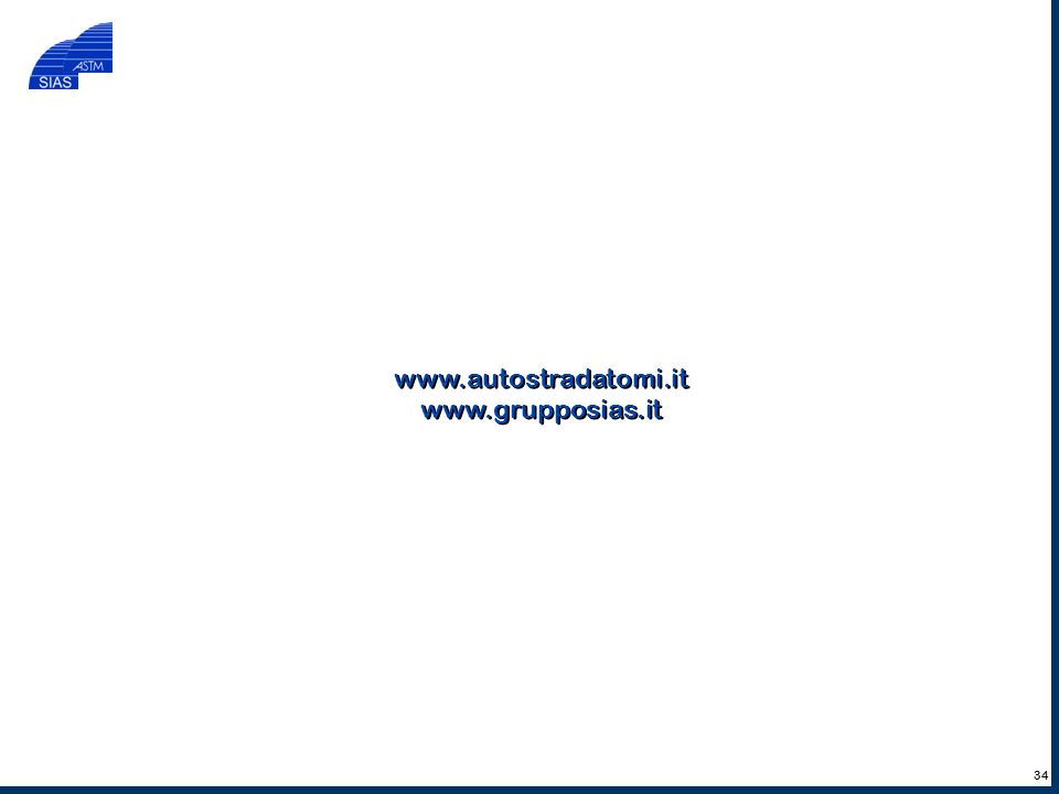 www.autostradatomi.it www.grupposias.it 34