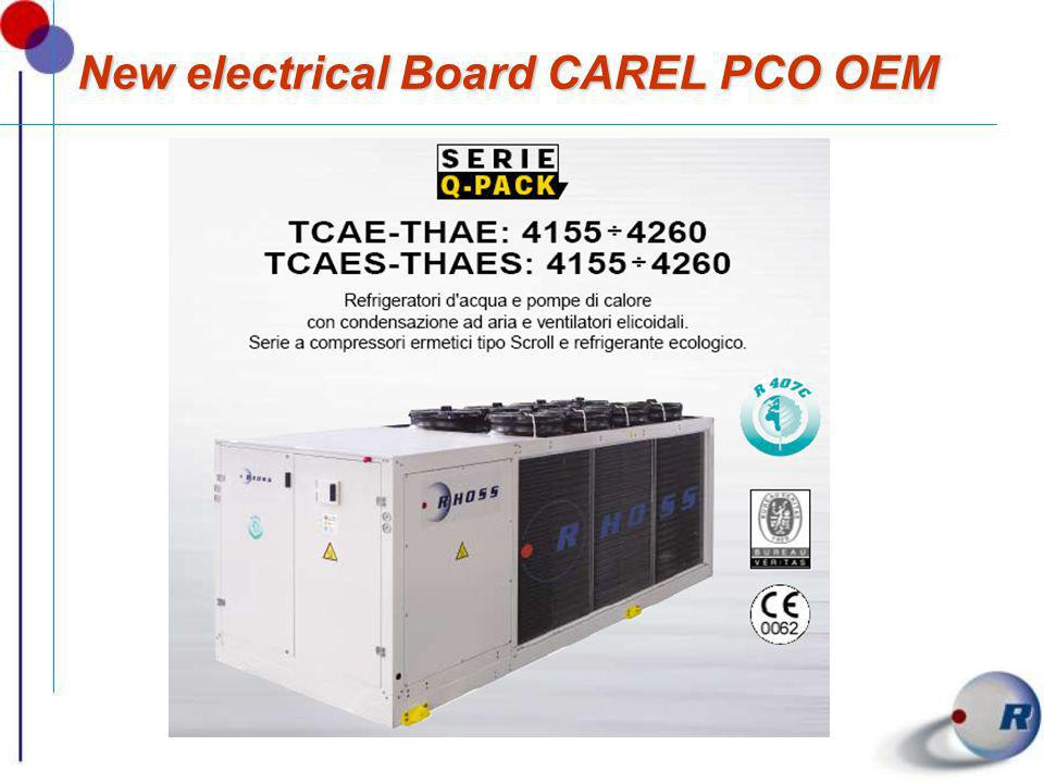 New electrical Board CAREL PCO OEM