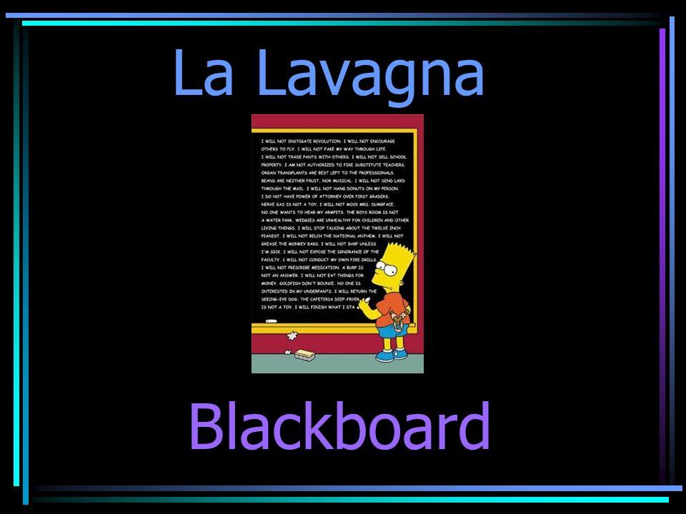 La Lavagna Blackboard