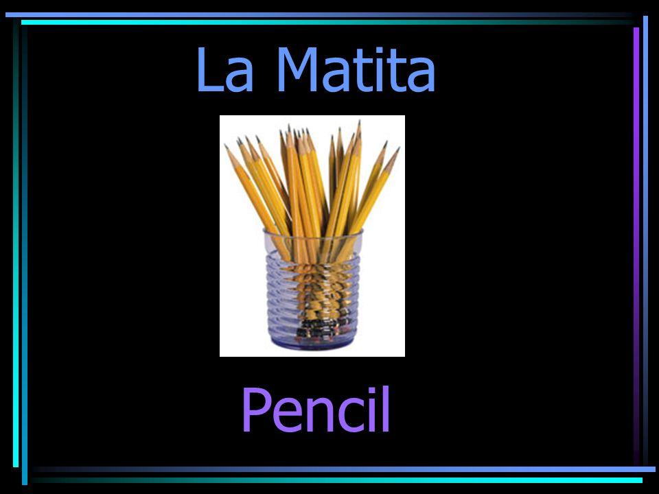 La Matita Pencil