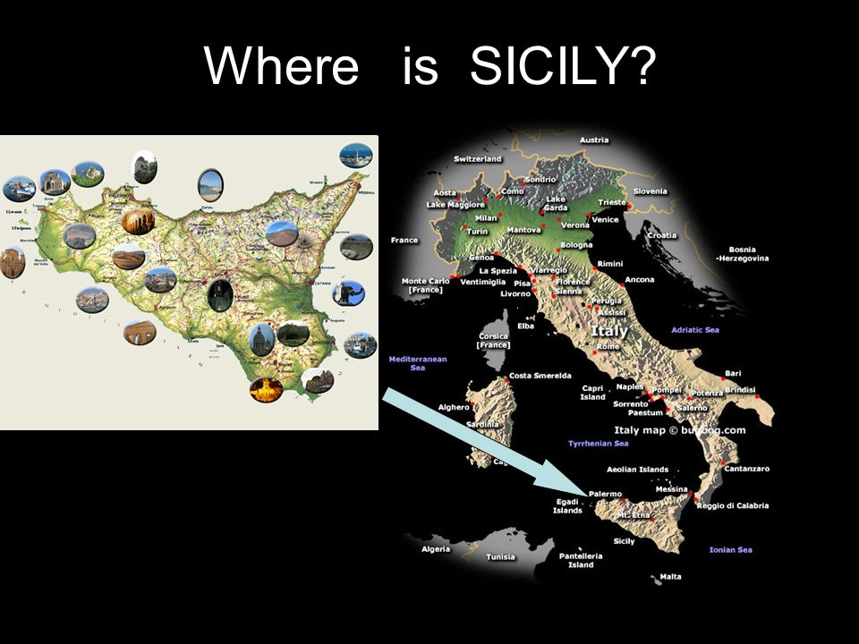 Where is SICILY?