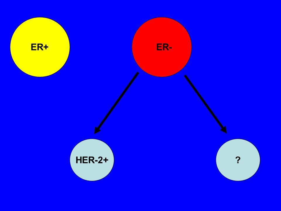 ER+ ER- HER-2+?