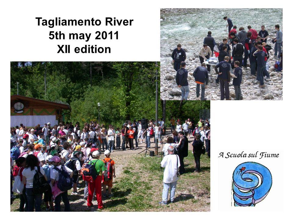 Tagliamento River 5th may 2011 XII edition