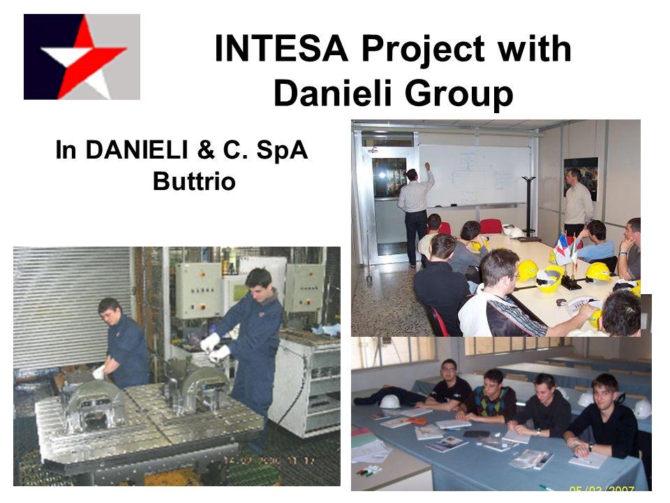 In DANIELI & C. SpA Buttrio INTESA Project with Danieli Group