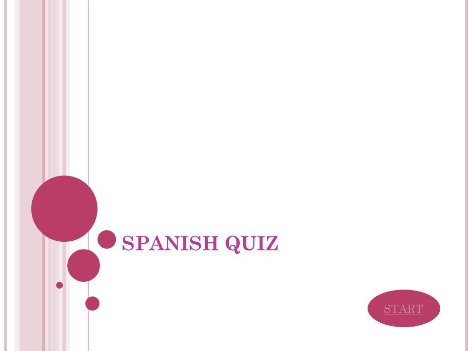 SPANISH QUIZ START
