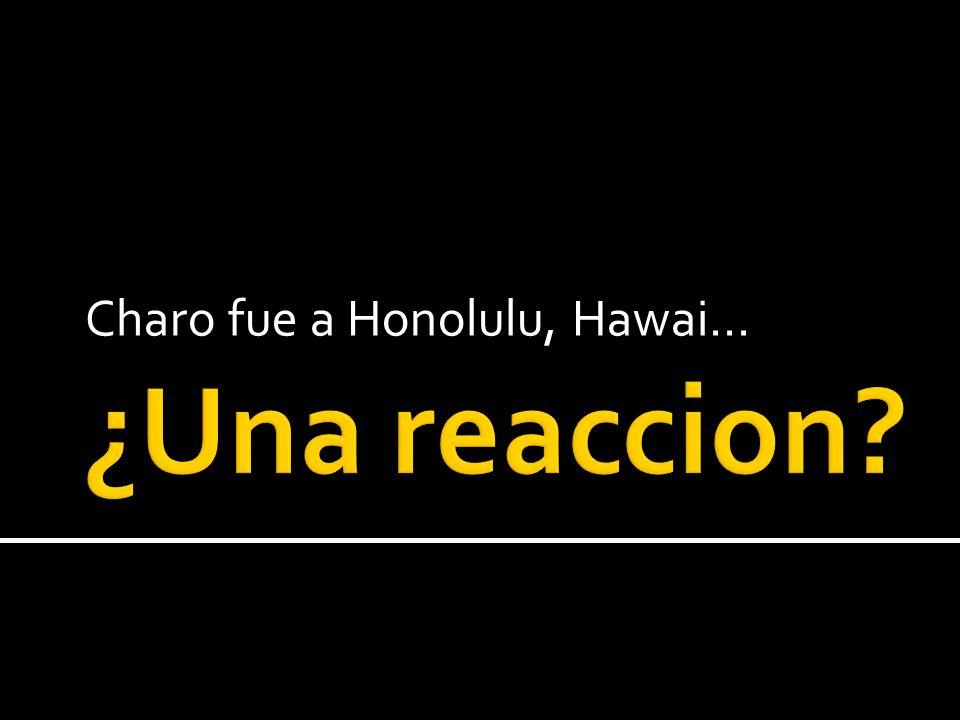 Charo fue a Honolulu, Hawai…